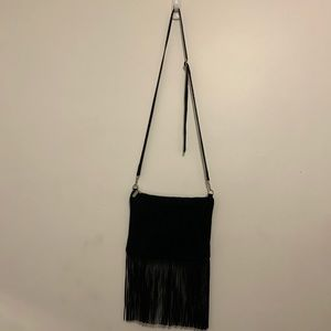 100% genuine suede leather bag! Made in Italy